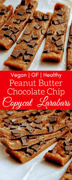 Peanut Butter Chocolate Chip Copycat Larabars Are Really Easy To Make At Home These No