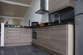 cuisine grise et plan de travail noir incroyable cuisine grise plan de travail noir 1 233quipe des
