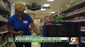 Cincinnati grocery delivery Kroger officially offering List