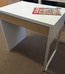Ikea Micke Corner Desk by Ikea Micke Desk White Birch In Holloway London Gumtree