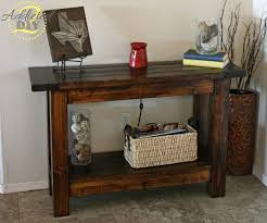 console tables ana white console table pottery barn inspired diy