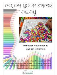 Coloring Books For Adults Is The Latest Trend Join Us In Newest Rage We Provide Pages And Markers Or Pencils