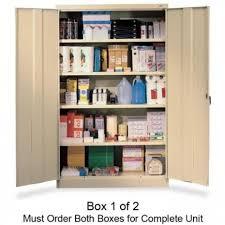 tennsco jumbo storage cabinet storage ideas