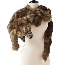 Grandin Road Halloween Catalog by Faux Werewolf Fur Wrap The Green Head