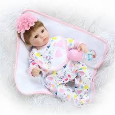 22 Reborn Toddler Baby Girls Vinyl Dolls Lifelike Princess Nursery
