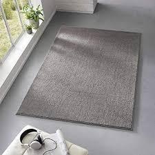 schlafzimmer kurzflor designer uni teppich weich fürs