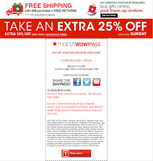 Macys Coupons December 23 2018 / Wcco Dining Out Deals Race For The Cure Coupon Code August 2018 Coupons Dealhack Promo Codes Clearance Discounts Aeropostale Online July Walgreens Photo Ax Airport Parking Newark Coupons Ldon Drugs December Most Freebies Learn Moccasins Canada Bob Evans Military Discount Party City Coupon Blog Softmoc Pompano Train Station Hqhair How To Shop Groceries 44 Bed Bath And Beyond Available Lowes Or Home Depot Printable Codes Slice