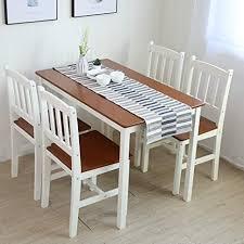 tischgruppe mit 1 tisch 4 stühle essgruppe esstischset sitzgruppe esstischgruppe esszimmergarnitur für 4 personen esszimmergruppe für küche wohnzimmer