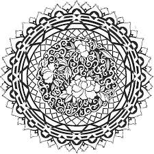 Free Mandala Coloring Pages For Adults 16 604 Best Images About Adult On Pinterest