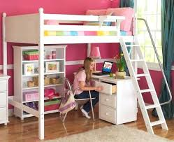 lit mezzanine bureau blanc lit superpose bureau lit superpose avec bureau pour fille visuel 6 a