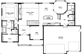 Lakeside Cabin Plans by The Sunset Lake 2189 3 Bedrooms The House Designers