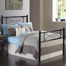 Cheerwing 12 7 High Metal Platform Bed Frame with Two Bowknot