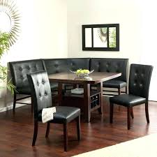 Booth Dining Room Sets Tables Intended For Table Set Corner Style