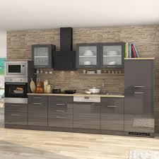 küchen midi herdumbauschrank münchen 165 cm hoch hochglanz grau graphit