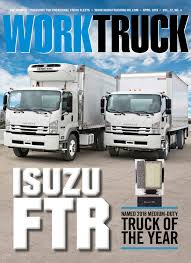 Isuzu 2018 Isuzu FTR Named Work Truck Magazine
