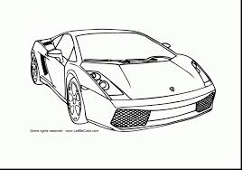 Excellent Lamborghini Car Coloring Pages With Page And Preschool