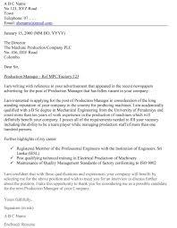 Job Application Letter Sample Download FREE Business Letter