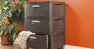 sterilite weave 3 drawer storage unit only 28 09 shipped
