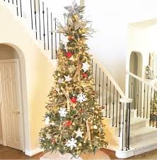 This Was Last Years Tree Weve Had 9 Foot Beast For Several Now And I Just Couldnt Get It Out Of My Head That Wished Flocked