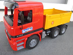 BRUDER 4143 RED Yellow MERCEDES BENZ Actros DUMP TRUCK Germany ... Bruder Mack Granite Halfpipe Dump Truck Abs Synthetics Toy Vehicle Bruder 02765 Cstruction Man Tga Tip Up Truck Toys Mack 116 Play Snow Plow Dump With Front Buy Online At The Nile Tgs Young Minds 03550 Scania Rseries Newfactory Sealed Mb Arocs Half Pipe Jadrem 3761 Garbage Toy Trucks For Kids Loader And Mercedesbenz Bruder Toys 5999 Pclick