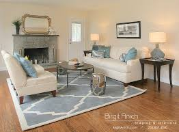 Transitional Living Room Sofa by Living Room Staging Ideas Cozy Connecticut Home Staging By