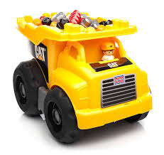 100 Big Toy Dump Truck Amazoncom Mega Bloks Caterpillar Large S Games