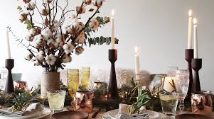 Table Decoration Ideas For Christmas In Singapore Create A Rustic With Cluster