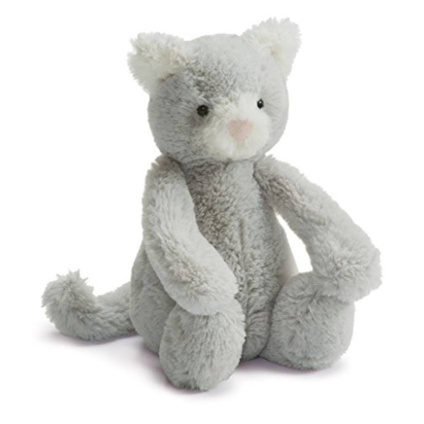 Jellycat - Bashful Small - Kitty Grey