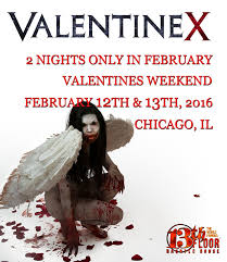 13th Floor Blackout Promo Code by Valentine X At The 13th Floor Haunted House February 12 U0026 13
