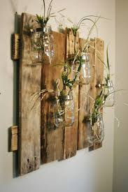 Decor With Pallets And Mason Jars