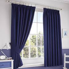 Eclipse Thermaback Curtains Walmart by Curtain Give Your Windows Modern Dressing Look With Navy Blackout