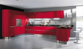 photo de cuisine design decoration cuisine bleu et jaune