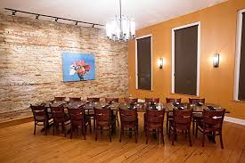 The Large Loft Room Seats Up To 28 People In Various Seating Options 3 Windows Look Down Onto Bustling Main Street Lake Geneva