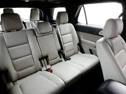 Suvs With Captain Chairs Second Row by Which 2017 Three With Ford Explorer Captain Chairs Rocket Potential
