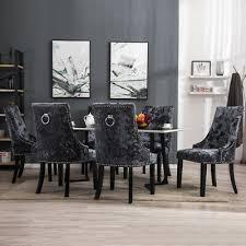 stühle 2 4x esszimmerstuhl küchenstuhl chesterfield samt