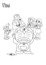 Doraemon Coloring Book Colouring Pages