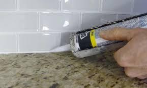 how to caulk a kitchen sink second floor