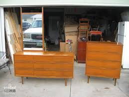 Ikea Mandal Dresser Craigslist by Furniture Vintage Mid Century Modern Dresser With Retro Details