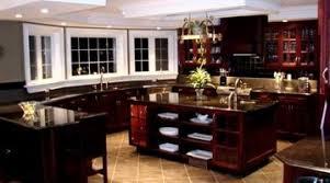 Gray Interior Wall Decor Against Delightful Black Kitchen Cabinets