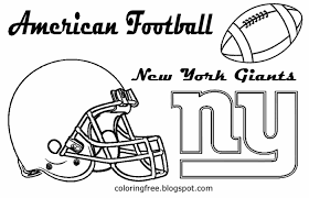 Ny Giants Coloring Pages Free