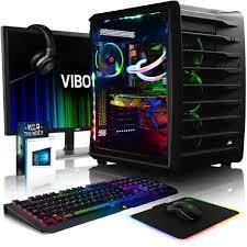 pack ordinateur de bureau vibox spectrum gxr780 326 pack pc gamer intel 10 asus