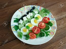 cuisine du soleil salade composee du soleil mediterranean salad cuisine
