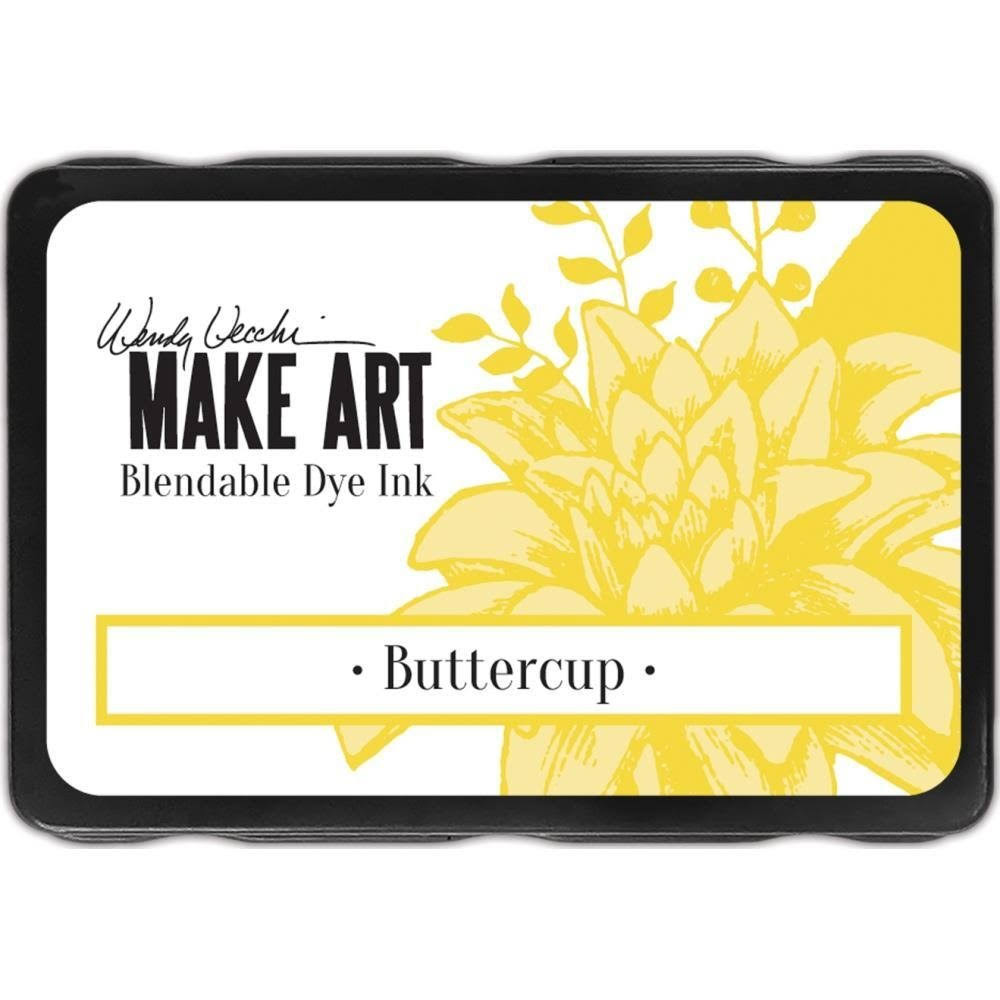 Wendy Vecchi Make Art Dye Ink Pads Buttercup