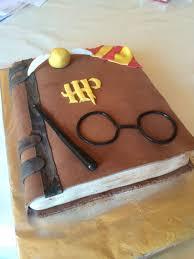 harry potter buch torte zur motto im hort kuchen