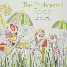 Enchanted Forest Anti Stress Colouring Book Amazoncouk Sara Muzio 9788854412064 Books