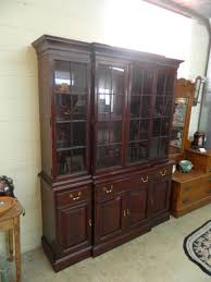 china cabinet drexel bow front china cabinet as well as