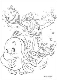 Backgrounds Coloring Disney Pages Of Ariel About The Little Mermaid