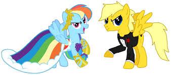 Rainbow Dash And Lightning Storm