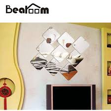 12x12 Mirror Tiles Beveled by Online Buy Wholesale Square Mirror Tiles From China Square Mirror