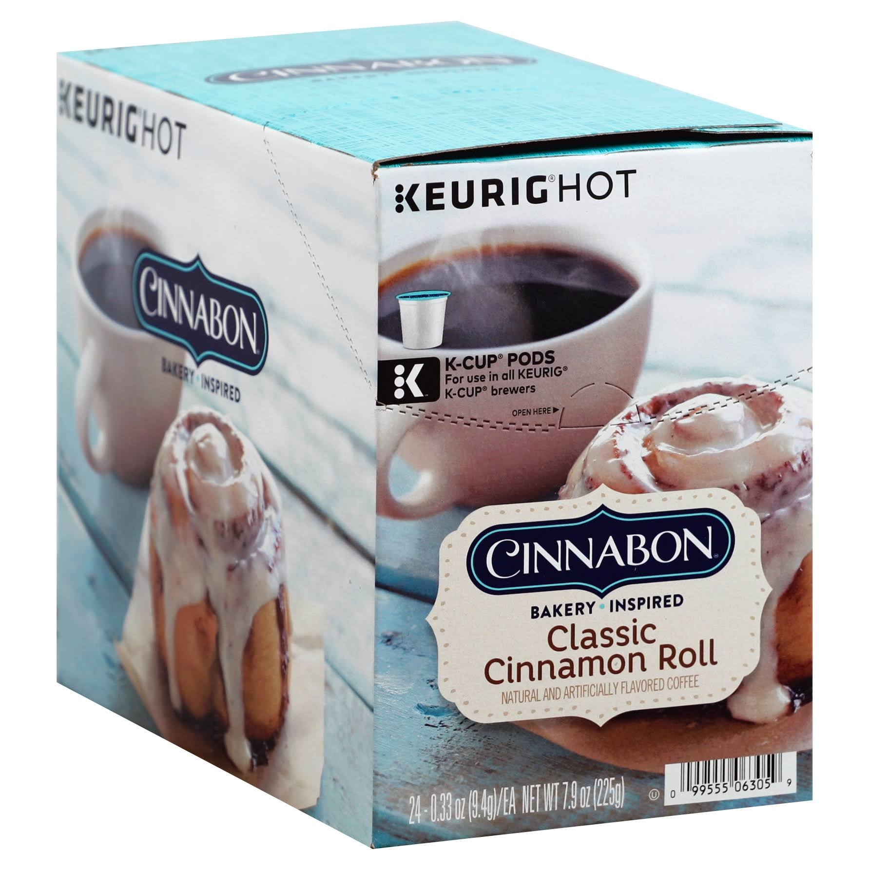 Cinnabon K-Cup Coffee - Classic Cinnamon Roll, 24ct